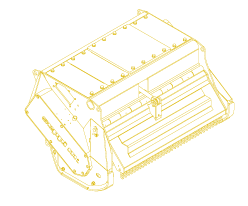 Mulcher für den Baggeranbau