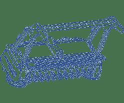 Broyeurs à transmission hydraulique