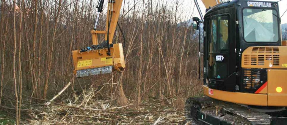 Bms l forestry mulcher attachment for excavator - Location broyeur forestier ...