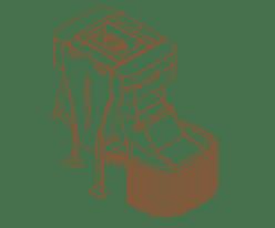 Stubben- und Wurzelstockfräsen
